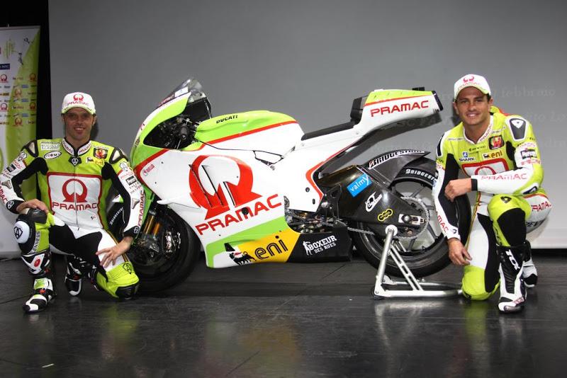 2011 Pramac Racing Ducati MotoGP